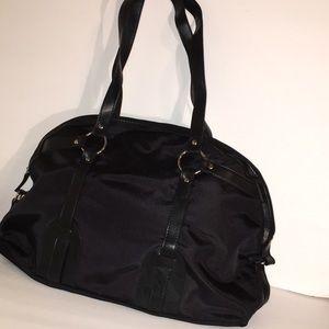 Liz Claiborne Black Overnight Bag